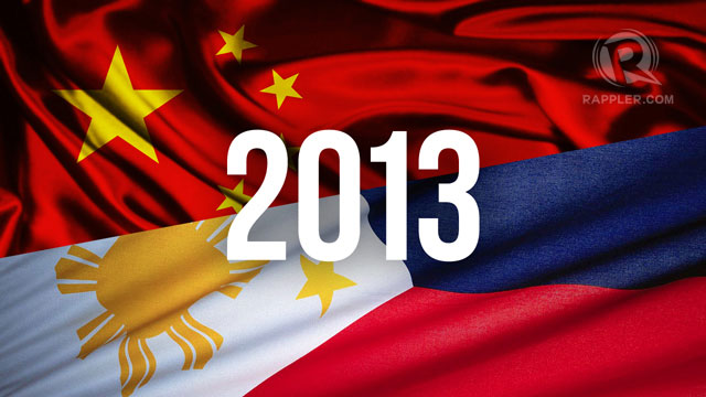 PH, CHINA HOPING FOR BETTER 2013. Graphic by Jessica Lazaro
