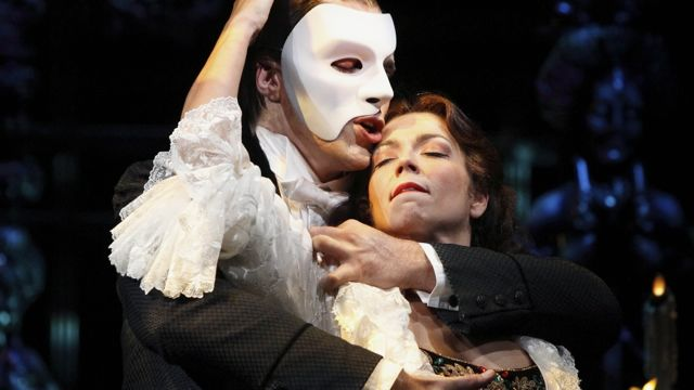 LOVE IS AT THE core of 'The Phantom of the Opera'