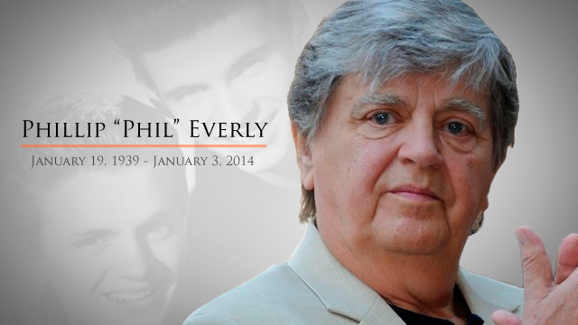 Music world pays tribute to Phil Everly