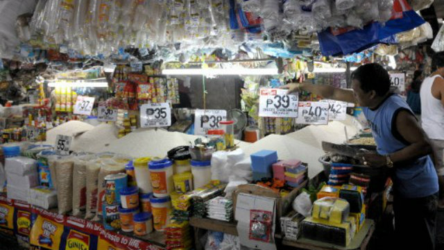 LOW PRICES. The Philippines continues to enjoy low prices in 2012. Photo by AFP.