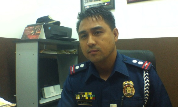 REGULATED. Supt Lenbell Fabia said the PNP regulates gun dealerships to make sure they comply with requirements. Photo by Natashya Gutierrez.