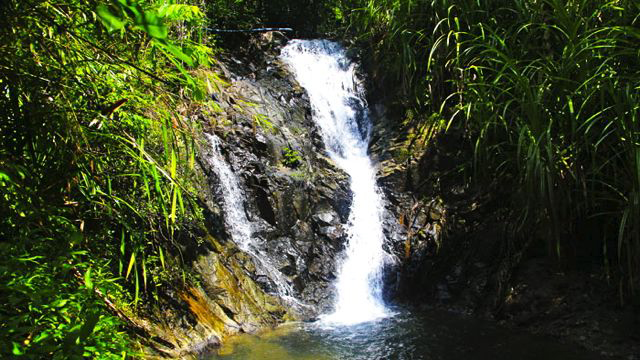 'PETITE' WONDER. The humble Nagkalit-kalit falls