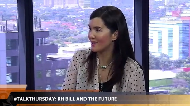 'IT'S VAGINA.' Sen Pia Cayetano explains the importance of sex education and the RH bill on Rappler's #TalkThursday. 