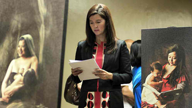 'ALLAYING FEARS.' RH bill principal sponsor Pia Cayetano says amendments to the bill aim to allay fears about the measure. File photo from Senate website
