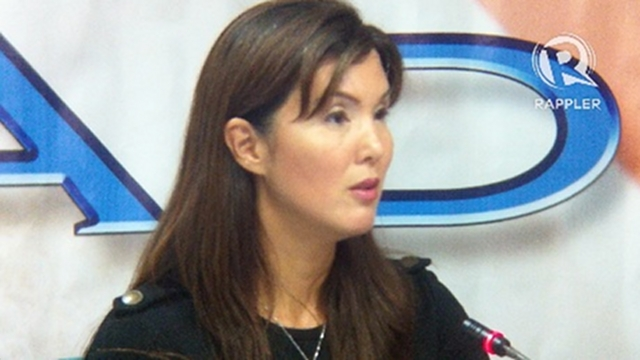 SENATE VOTE. Sen Pia Cayetano says she may move for a vote to close the period of amendments if those opposed to the RH bill will continue to delay it. Photo by Ayee Macaraig 