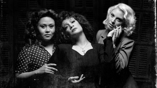 THE LADIES. Ima Castro, Pinky Amador, and Giselle Töngi Walters in 'Piaf'