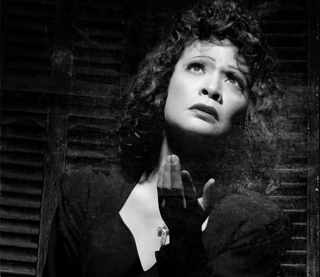 SUFFERING ARTIST. Pinky Amador is Piaf, the iconic French singer who led a life of passion and tragedy