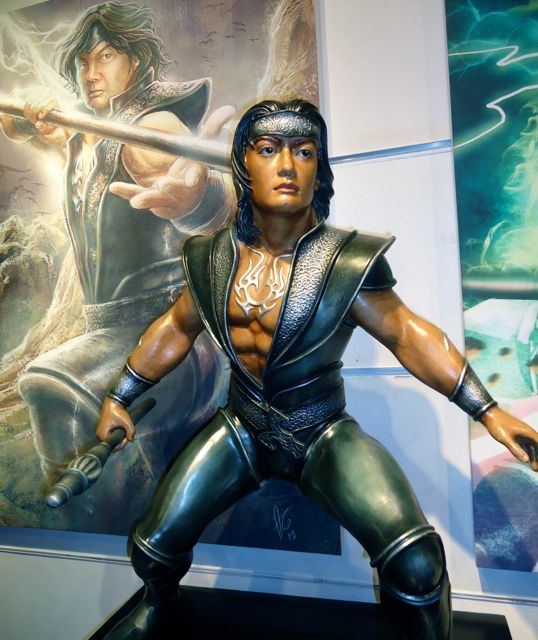 PILAK, THE HERO. A statue by Seb Chua that inspired the creation of the comic book hero from the past