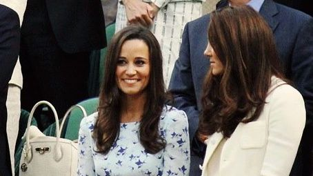 PIPPA MIDDLETON WITH SISTER Catherine, the Duchess of Cambridge. Image from Facebook (Pippa-Middleton.co.uk)