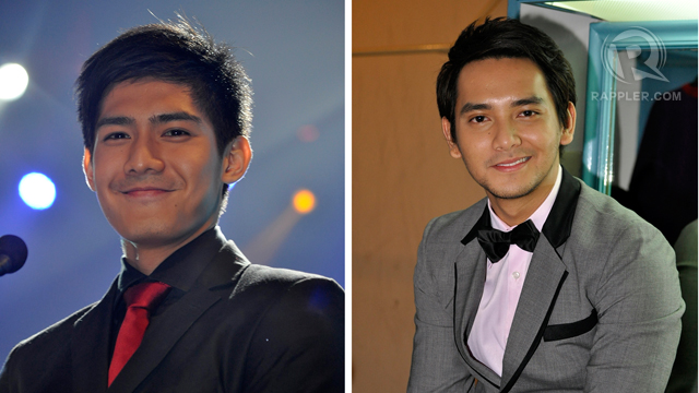 Presentors Robi Domingo and Bryan Termulo 