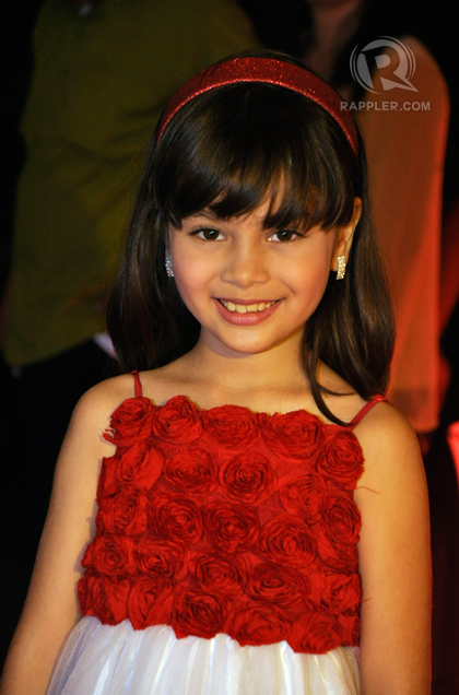 Best Child Performer nominee, Mona Louise Rey (Munting Heredera)