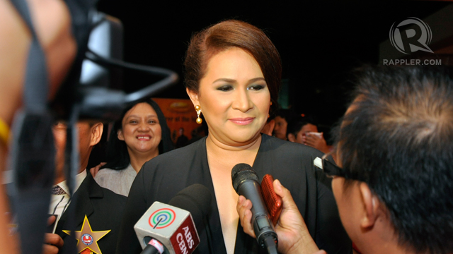 Actress Janice de Belen