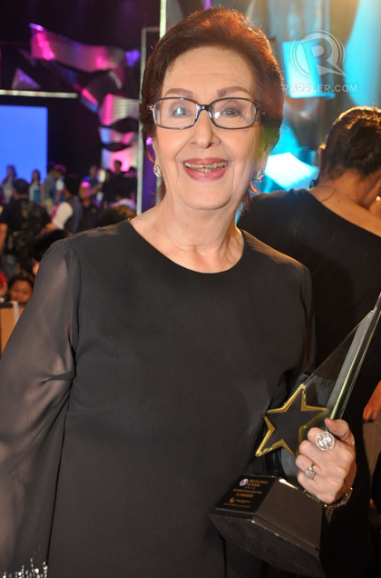 Ading Fernando Lifetime Achievement awardee, Ms. Gloria Romero