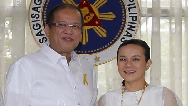 BOTH AGONIZING. Grace Poe-Llamanzares reveals that both she and the President agonized over her senatorial bid because of the difficulties of mounting a national campaign. File photo by Malacaang Photo Bureau