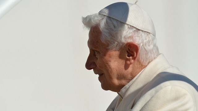 SELFLESS LEADER. Pope Benedict XVI leaves his post as the most powerful Catholic leader in the world. Photo from AFP