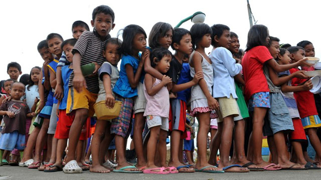 AT STAKE. For Cardinal Tagle, Church reform should lead to improving the plight of the poor. File photo from AFP