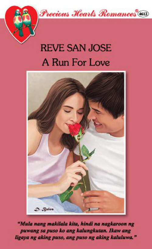 TRY READING ONE. 'A Run For Love' by Reve San Jose. Image from the Precious Hearts Romances Pocketbooks Facebook page