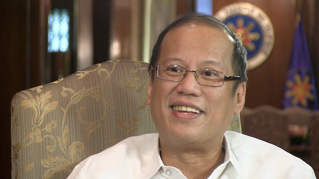 UNINVITED? President Benigno Aquino III in an interview with Rappler last October 2012
