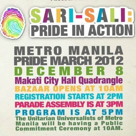SARI-SALI. Photo from the Metro Manila Pride March 2012 Facebook page