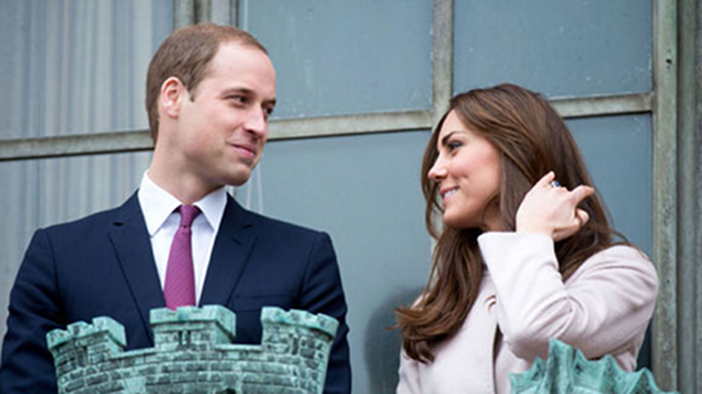 Photo of the Duke and Duchess of Cambridge from their official website
