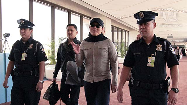 PSY IN MANILA. The K-pop sensation arrived in NAIA on February 16. All photos by Jedwin Llobrera