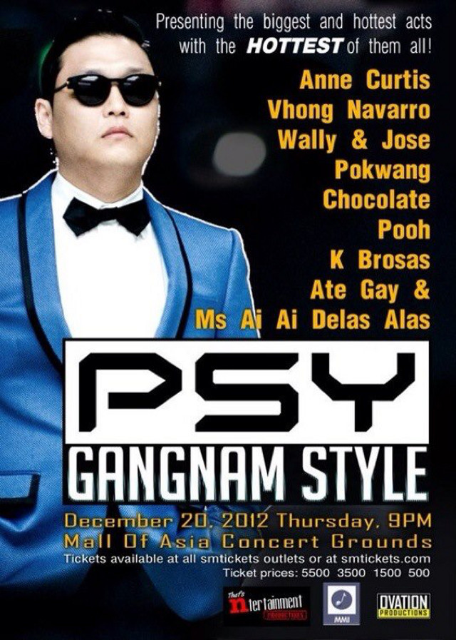 FROM 2012 TO 2013. Filipinos won't be celebrating Christmas with Psy after all. Image from Facebook
