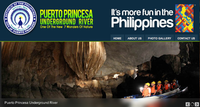 ONLINE BOOKING. Tourists can now reserve slots online to visit the Puerto Princesa Underground River. Screenshot of http://ppur.com.ph/ 