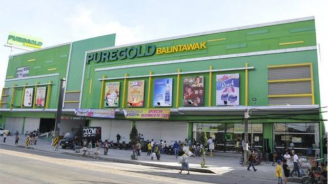 PURE GOLD. The company posts a 75.9% growth in its net income in 2012. Photo taken from the Puregold website