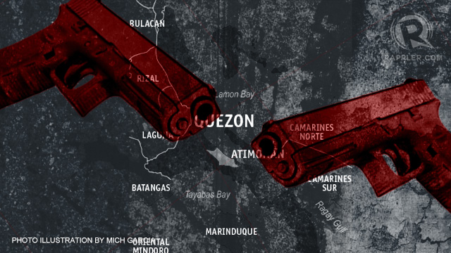 CRIMINALS OR NOT? Relatives of those killed in a shootout in Atimonan, Quezon insist that the police killed the wrong people.