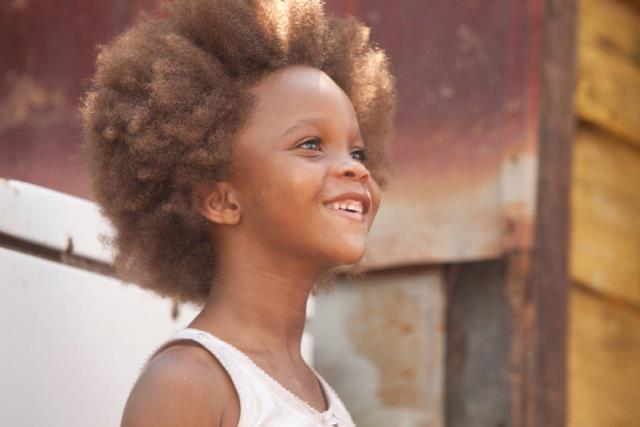 "Actress Quvenzhané Wallis in a scene from ""Beast of the Southern Wild."" Photo from the film's official Facebook page."