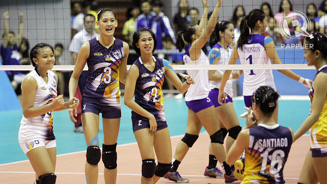 IN PHOTOS: Ateneo defeats NU to advance to UAAP Volleyball Finals