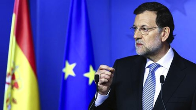 POLITICAL CRISIS. Spanish Prime Minister Mariano Rajoy in a file photo from the Spanish government's official website