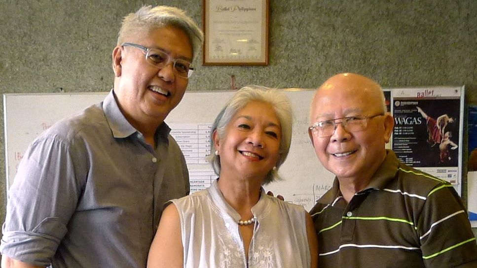 THE COLLABORATORS. Ryan Cayabyab, Alice Reyes and National Artist Bienvenido Lumbera are behind the music, direction, choreography and libretto of 'Rama Hari.' Photo courtesy of Jude Cartalaba