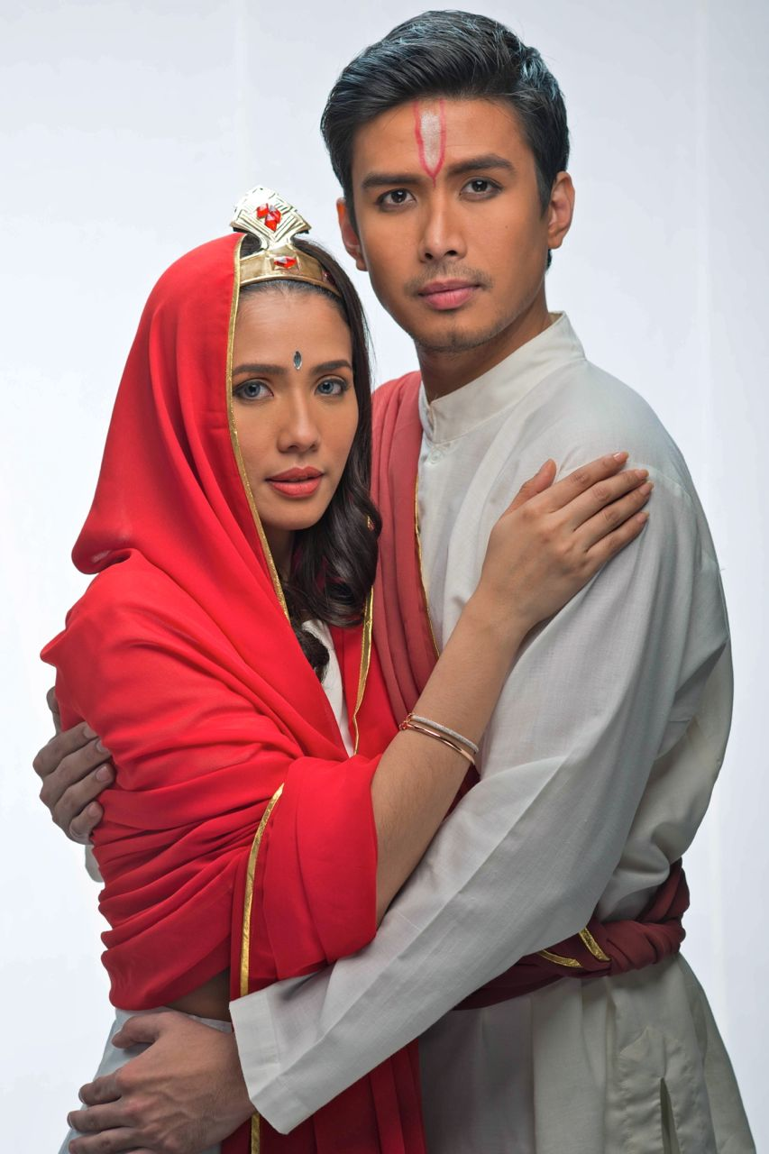 Karylle Tatlonghari and Christian Bautista. Photo by Jojit Lorenzo
