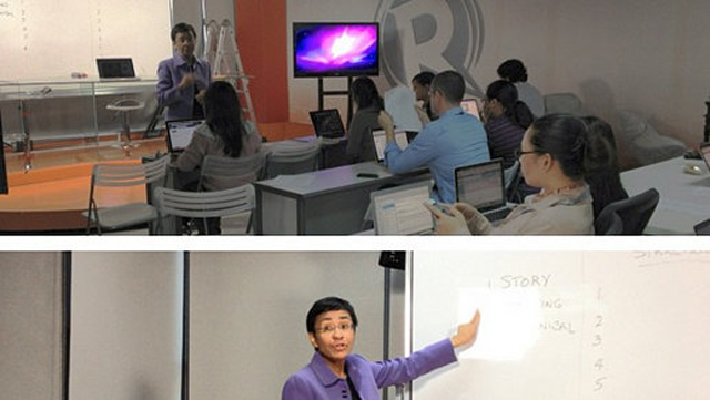 Workshop at Rappler