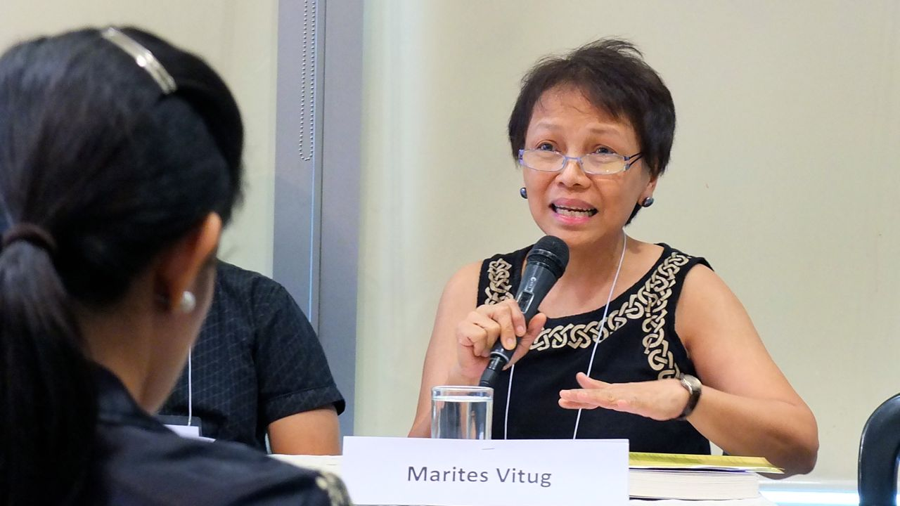 THE VLOG-ER. Rappler editor-at-large Marites Vitug talks about her bestselling book about the Supreme Court, Shadow of Doubt