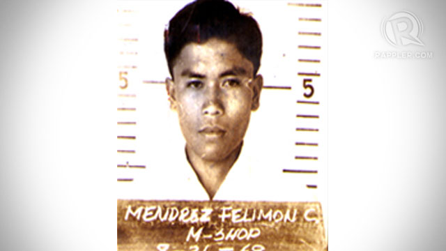 6th MOST WANTED. Filemon Mendrez, one of the leaders of the communist New People's Army, was arrested in Negros Oriental on Tuesday, December 25. Photo from the Central Visayas Regional Office.