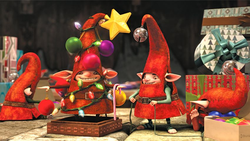 SANTA'S ELVES. The film is filled with imagery that will get you excited about Christmas again — like a kid. Image from the movie's Facebook page