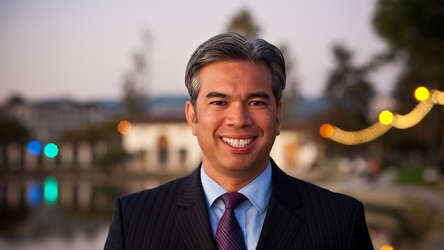 LEGISLATIVE. Alameda Vice Mayor Rob Bonta will move up to the State Assembly after winning as representative of the 18th District of California. Photo from Bonta's official website.