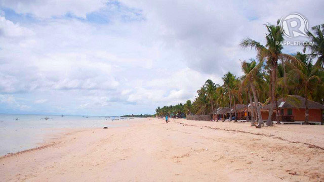 PEACE AND QUIET. Bantayan Island is a romantic island like Boracay minus the big crowds. Photo by Nathelle Lumabad