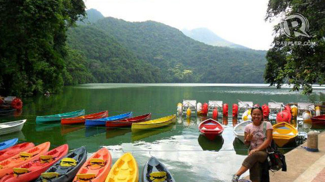 ADVENTURE FOR TWO. Bulusan – a quiet lake perfect for an outdoor date. Photo by Emm Balabat