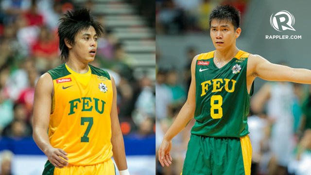 FEU TAMARAWS. Terrence Romeo and RR Garcia were a deadly one-two punch