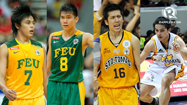 BACKCOURT TANDEMS. Terrence Romeo and RR Garcia spearheaded FEU's UAAP