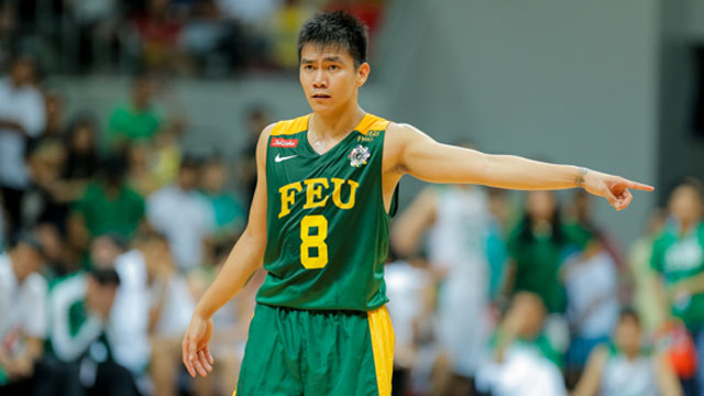 SUSPENDED. Garcia will miss FEU's game against UE. Photo by Rappler