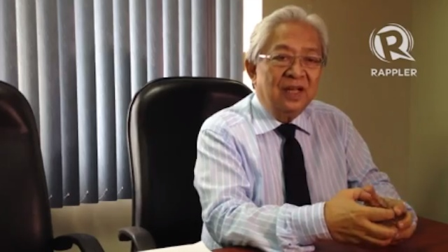 EXPERIENCED DIPLOMAT. DFA Usec Jose Brillantes was Philippine ambassador to Malaysia from 1996 to 2002. File photo by Carlos Santamaria