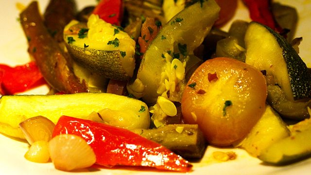 ESCALIVADA (SPANISH ROASTED VEGETABLES)
