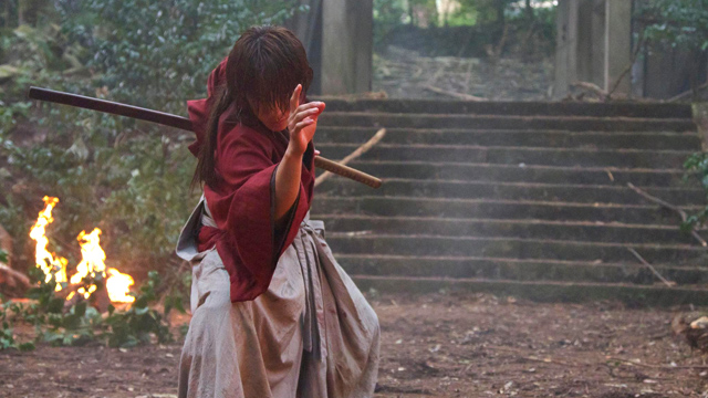 HITEN MITSURUGI. Are you excited to see the famous Rurouni Kenshin fighting style? Screenshot from Facebook