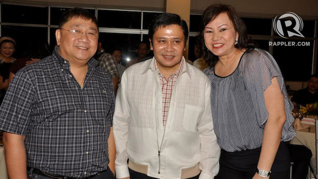 GUILTY. The Supreme Court declares Sandiganbayan Justice Gregory Ong (left) guilty of misconduct for his links to Janet Lim Napoles (right). Photo obtained by Rappler