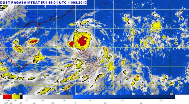 MTSAT ENHANCED-IR Satellite Image 3:01 a.m., 12 August 2013. Image courtesy PAGASA