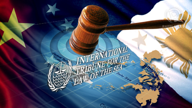 UN TRIBUNAL. The Philippines is taking China to international arbitration over their territorial dispute in the South China Sea. Graphic by Mich Garcia